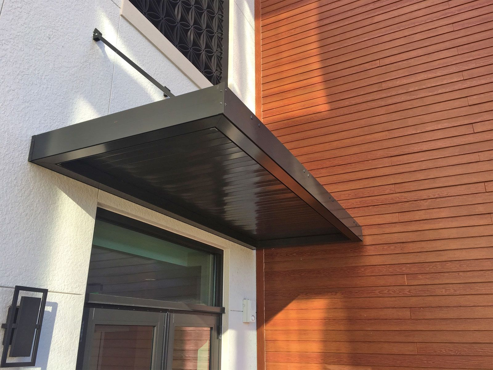 Imperial Marquee Awning With 8 Wide Flat Panels Metal Awning Awning Aluminum Awnings