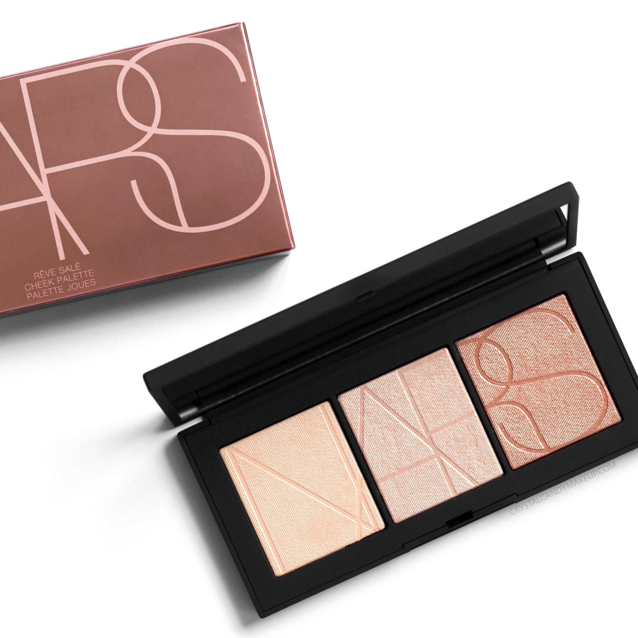 NARS Rêve Salé Cheek Palette - Review and Swatches