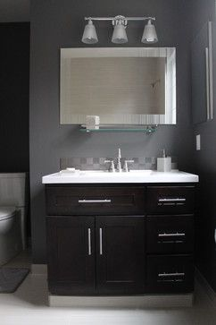 Guest Modern Bathroom Ideas Inspiration Small Bathroom Dark