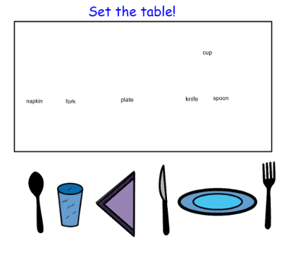 set the table | Robyn\'s Classy | Pinterest | Life skills, Special ...