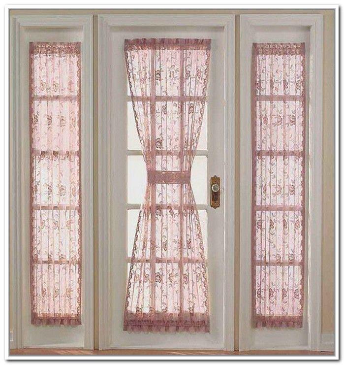 Door Side Window Treatments Domashnij Dekor Interer Dekor Okon