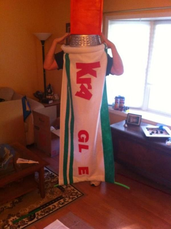 """Make Your Own """"The Lego Movie"""" Kragle Costume 
