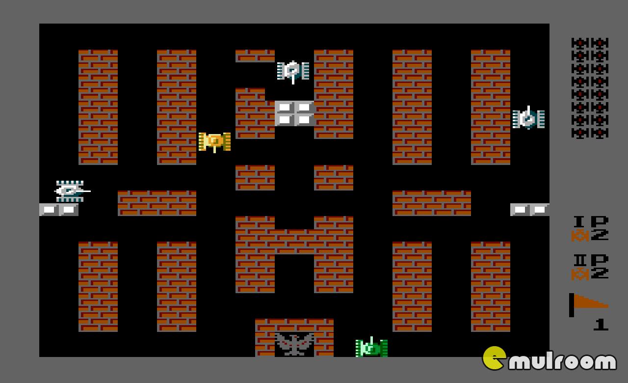 танчики денди играть онлайн 1990
