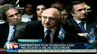 AL opoyo incondicional a Argentina por las islas Malvinas
