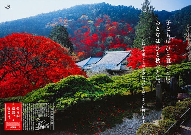 そうだ 京都、行こう。」のCMとポスターでめぐる、秋の絶景7選 | 紅葉 ...