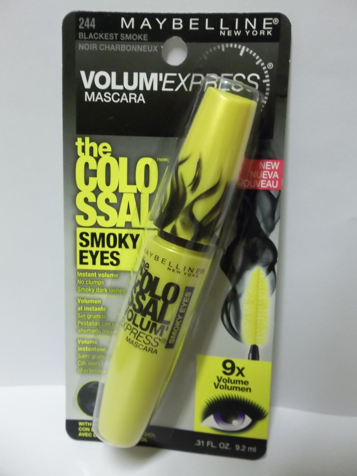 aa8e1cd8f53 Maybelline Volum `Express The Colossal Smoky Eyes Mascara, 244 ...