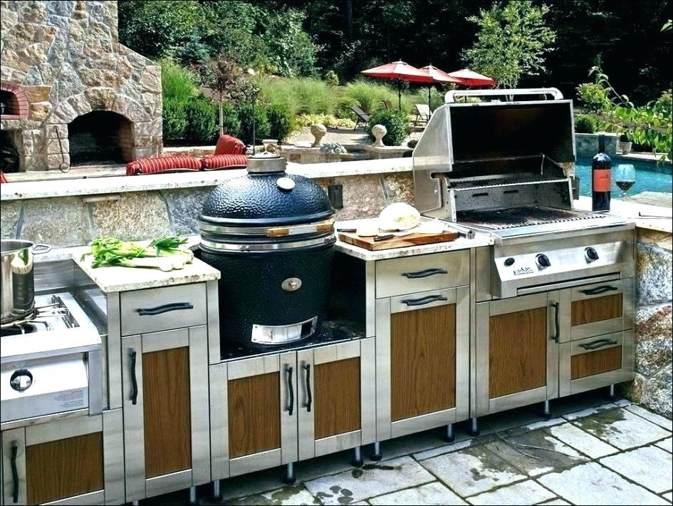 Diy Outdoor Grill Station Related Outdoor Grill Kitchen Islands Build Your Own Island Med Outdoor Kitchen Cabinets Outdoor Kitchen Design Kitchen Design Centre