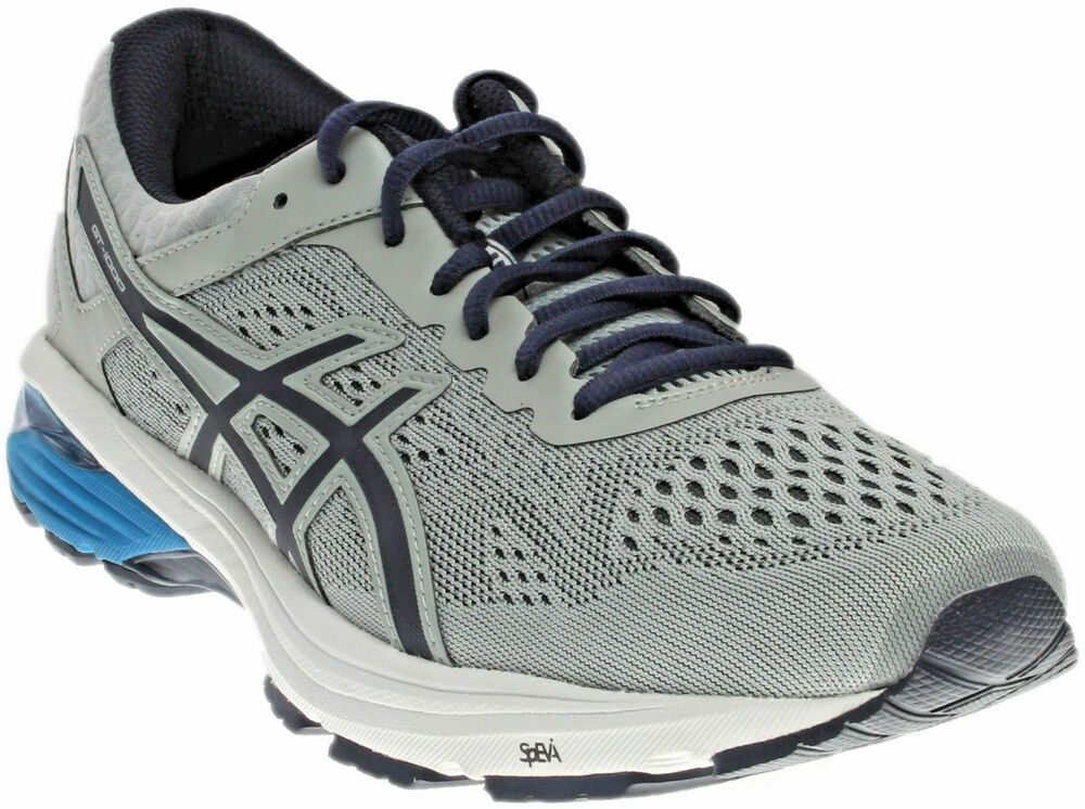 Details About New Men S Asics Gt1000 7 Running Shoes Grey Black