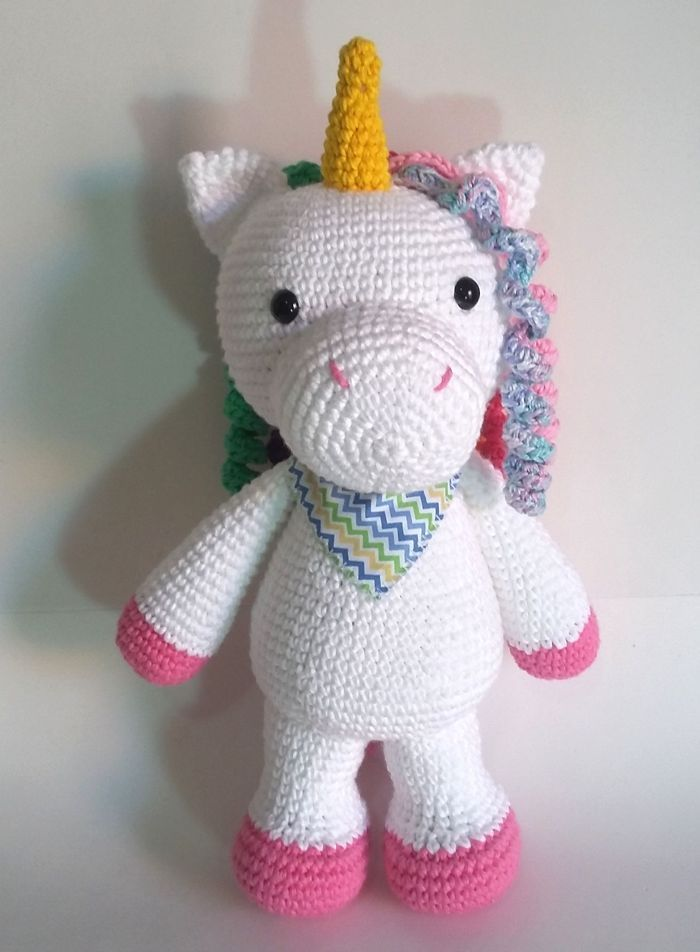 Unicornio Amigurumi - Patrón Escrito - YouTube | 952x700