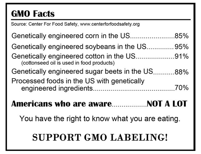 Support Gmo Facts Labelling Gmo Facts Genetically Modified Food Gmo Free Food