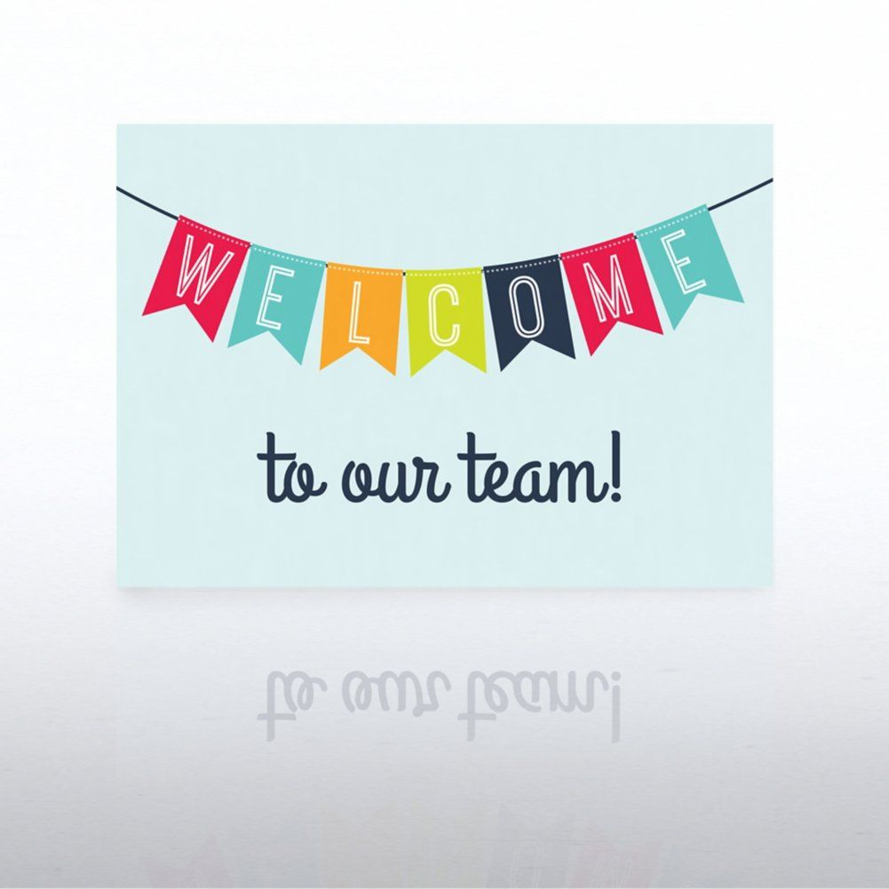 Onboarding Greeting Card Welcome Banner Welcome Card Welcome To Our Team Welcome Banner