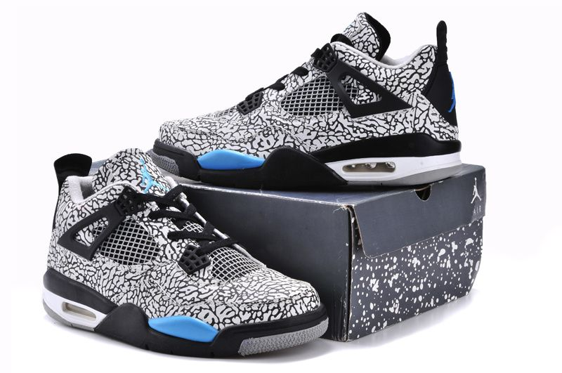 Air Jordan 4 Retro 3Lab5 Elephant Print Custom for Sale 10599