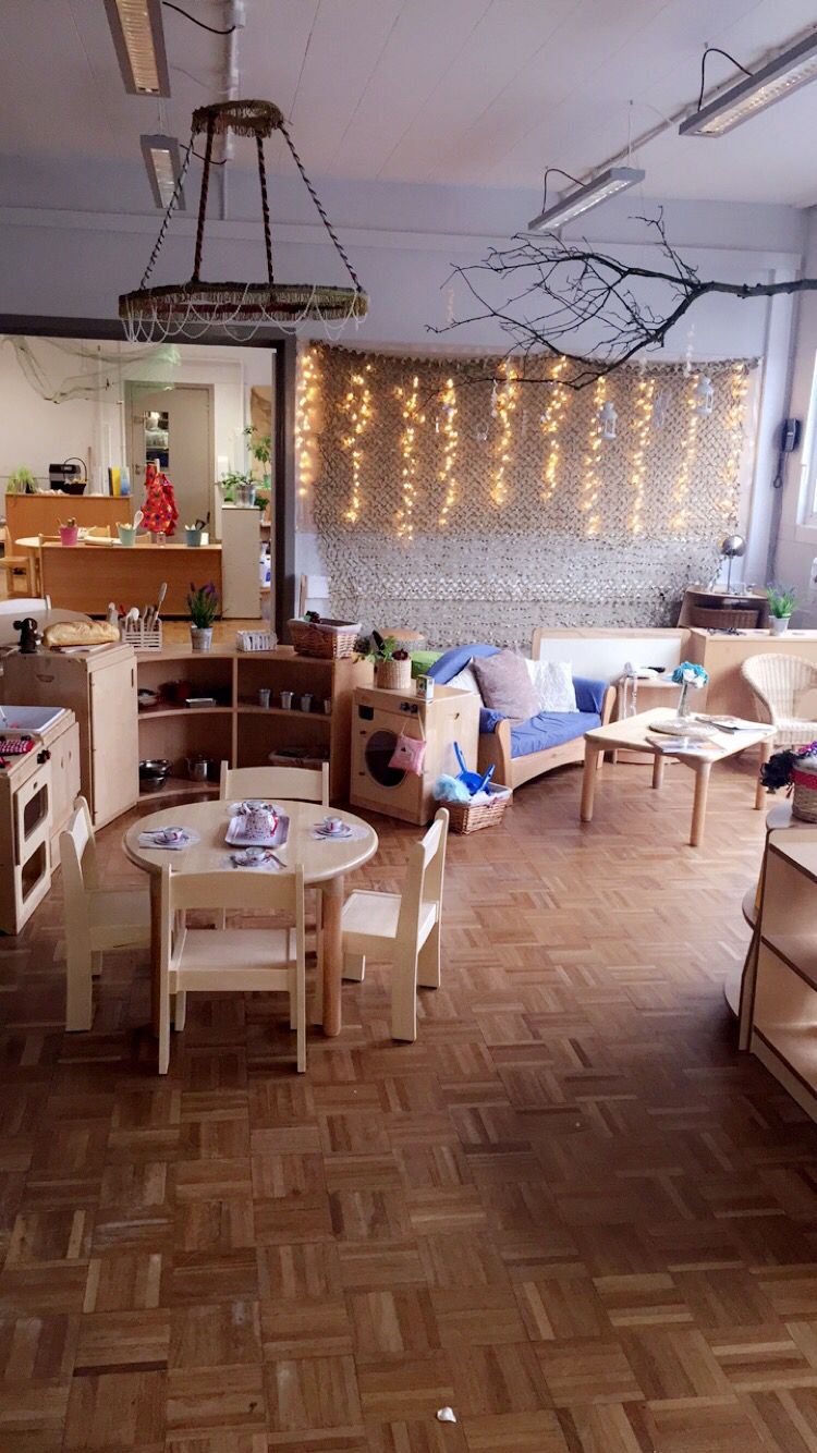 Home Corner In Early Years Setting: Role Play Kitchen And Home Corner