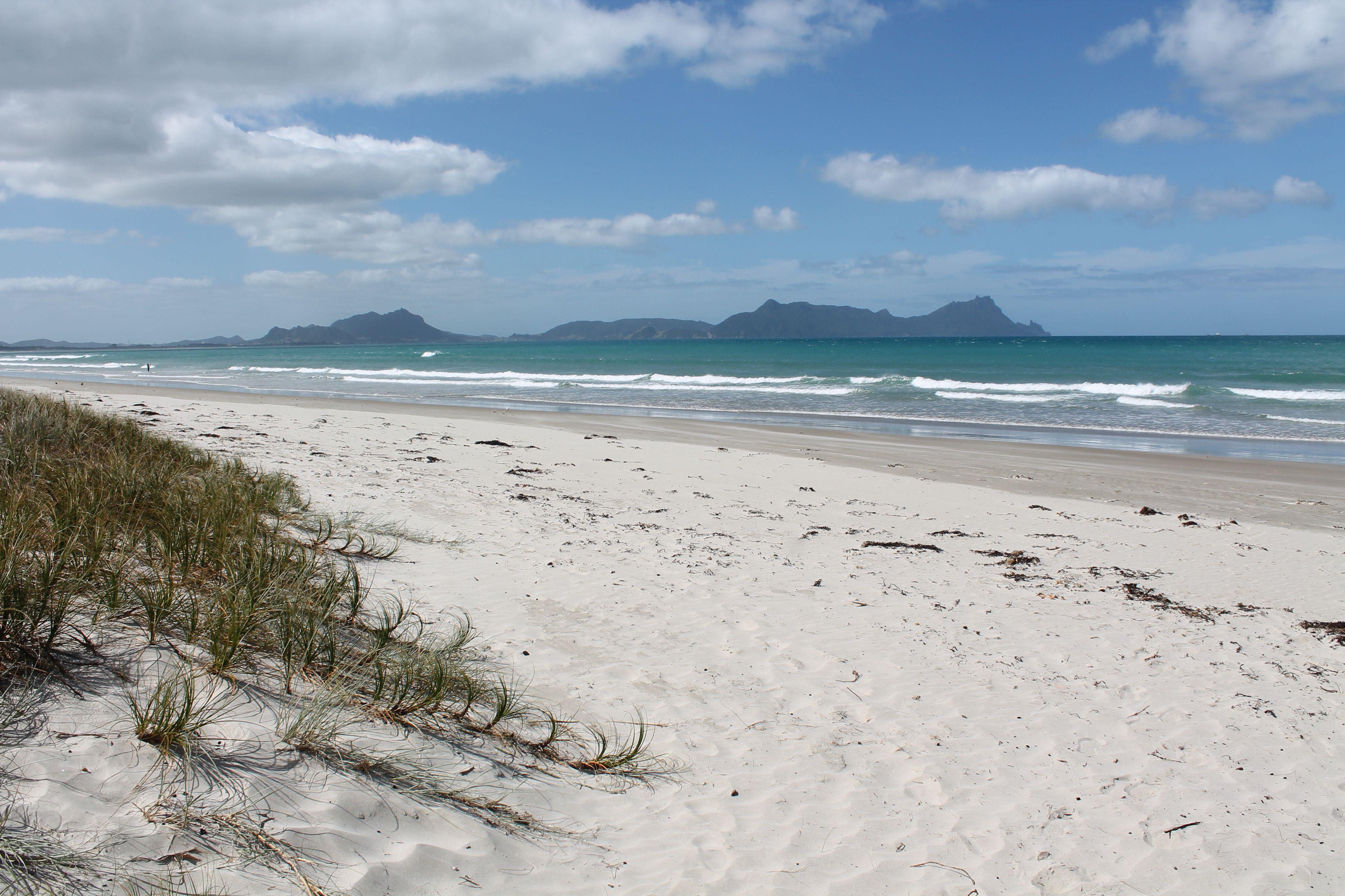 Uretiti Beach camping area Map - Northland, New Zealand