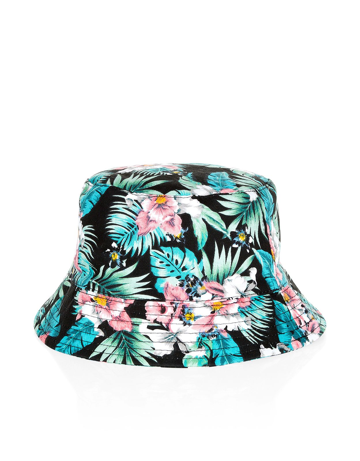 7739b3702f Tropical Floral Bucket Hat