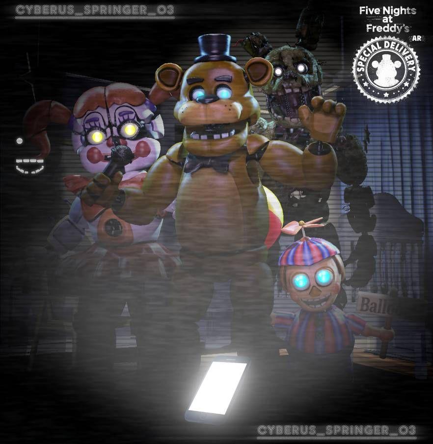 Five Nights at Freddy's AR! (SFM/Edit) by