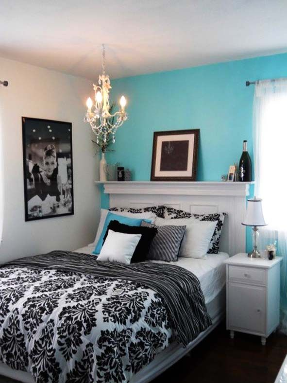 Bedroom, 8 Fresh And Cozy Tiffany Blue Bedroom Ideas