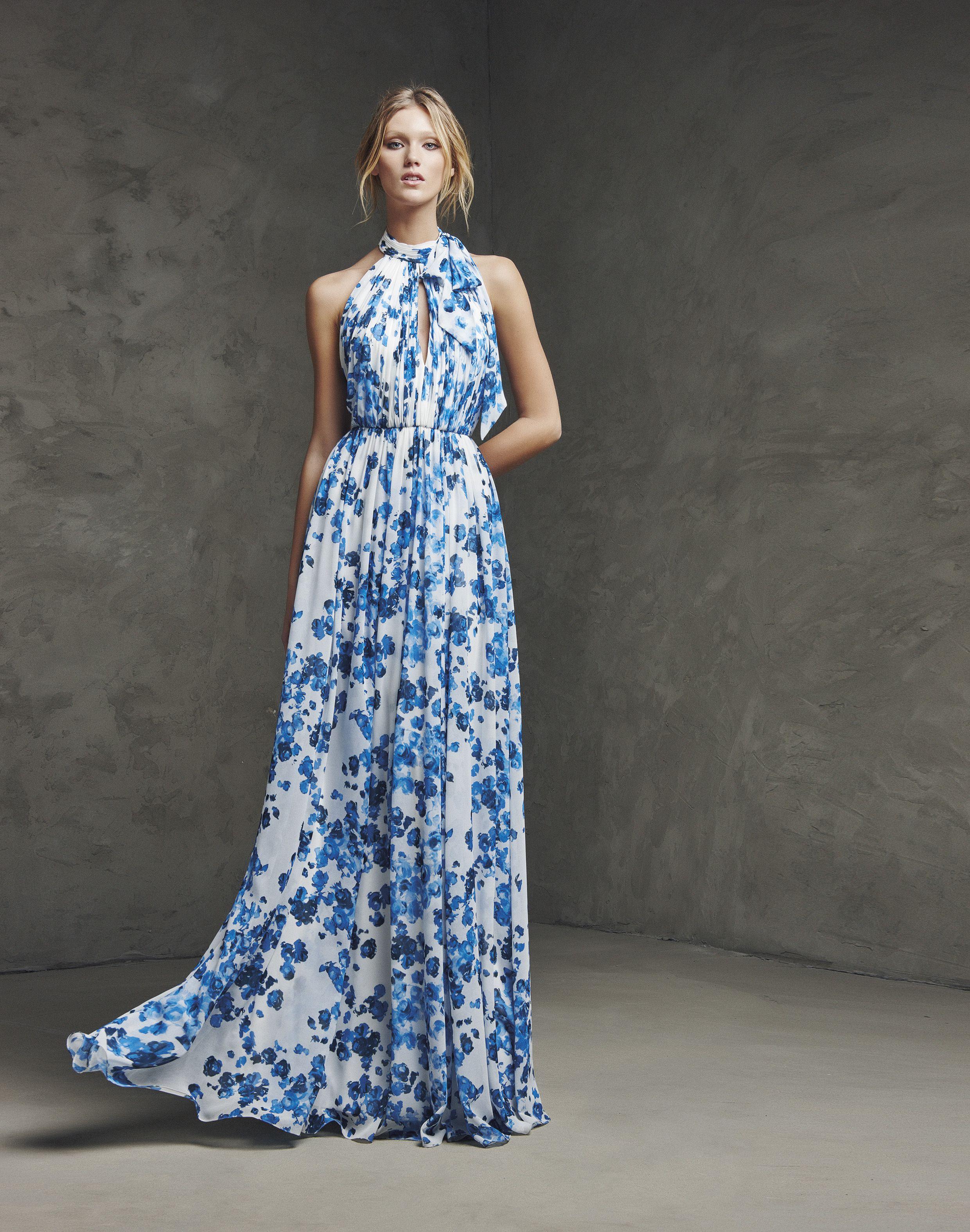 Vestidos de festa com estampados florais para 2016: vai adorar ...