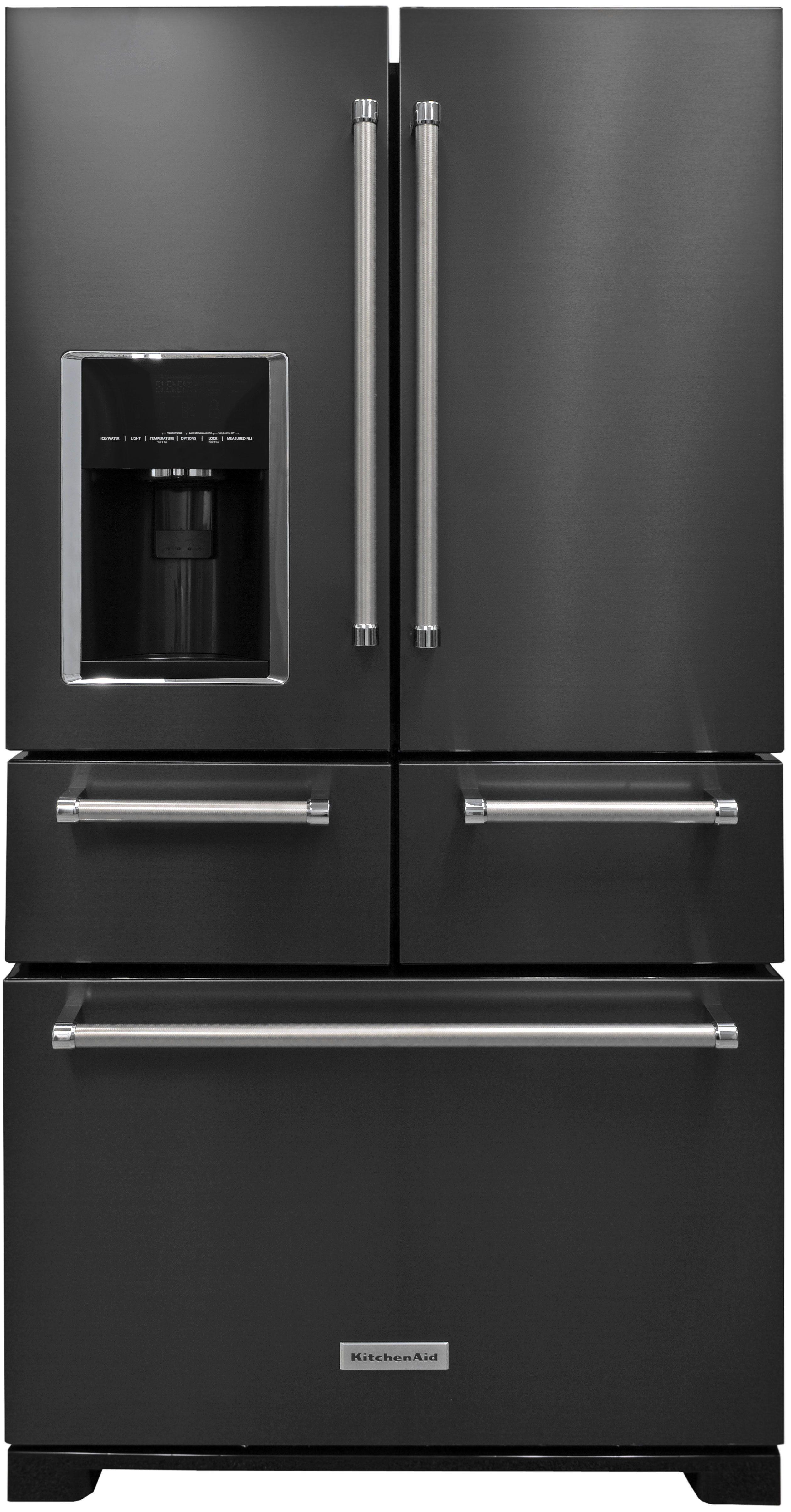 Exceptional KitchenAid KRMF706EBS Refrigerator Review. Black Stainless  SteelKitchenaidRefrigeratorsNew ...