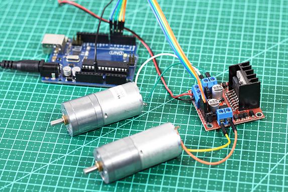Bridge circuit H L298N
