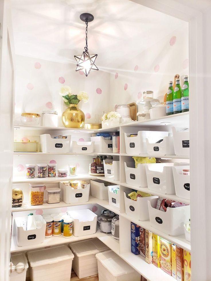 Amazing Inspiration to Create Perfectly Organized Pantry ...