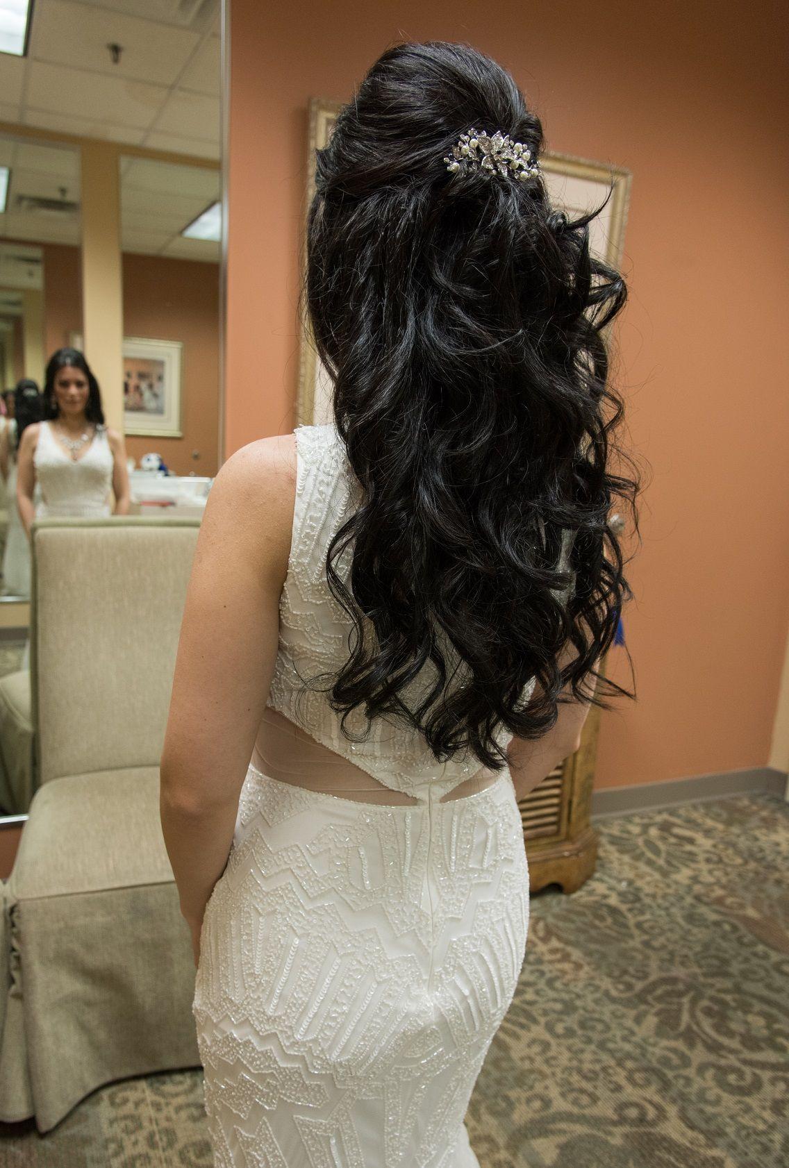 Wedding Hair Long Beach Waves Beautiful Wedding Hair Wedding Hairstyles Bridal Hair And Makeup