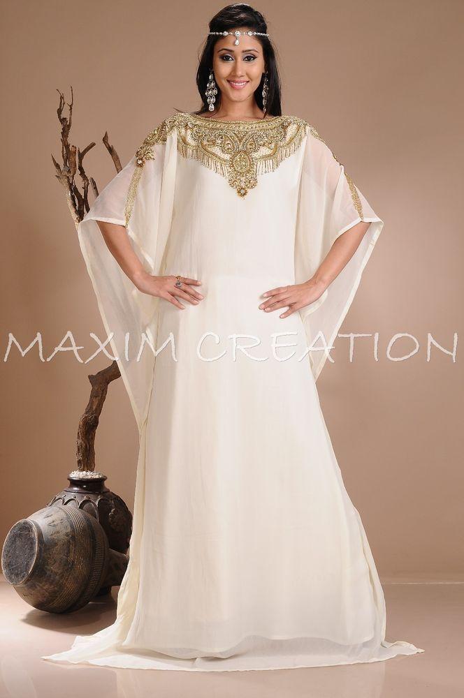 Ihram Kids For Sale Dubai: DUBAI VERY FANCY KAFTANS Abaya Jalabiya NEW Ladies Maxi