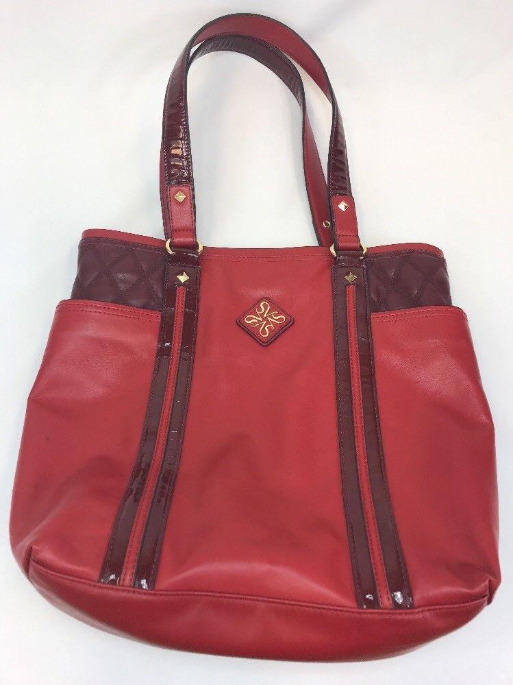 2a16e54dcfca Simply Vera Vera Wang Women s Red Large Sized Open Tote Bag Purse  handbag   product  prada  women  guccigang