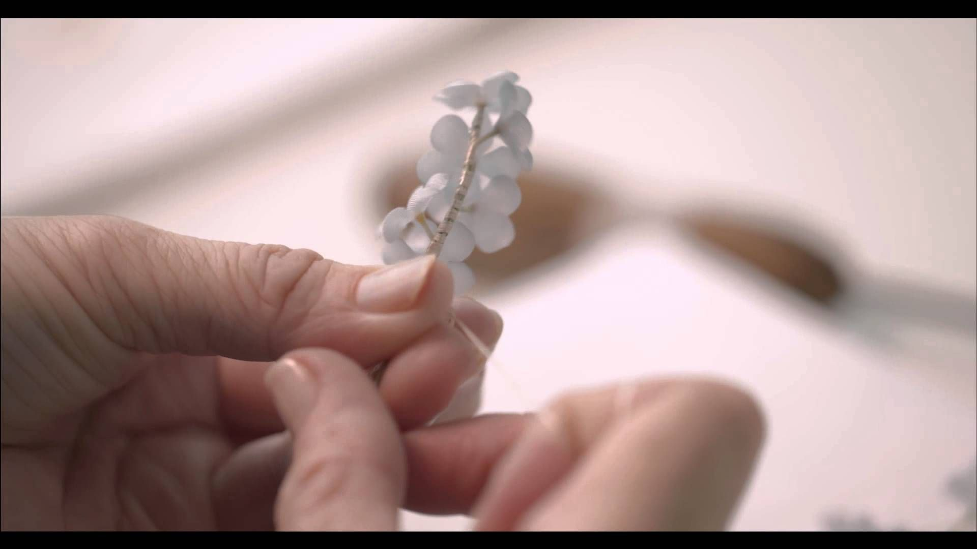 """Le Petit Théâtre Dior - Making of """"Miss Dior"""" dress ~ http://www.youtube.com/watch?v=1mihmTwi-rg"""
