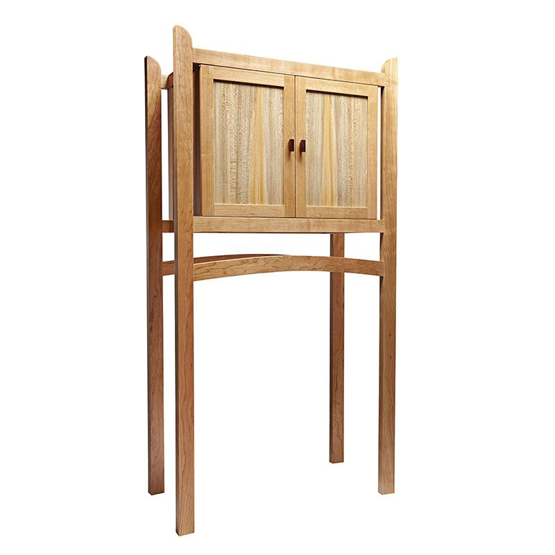 Krenov-inspired Tall Cabinet Woodworking Plan from WOOD ...