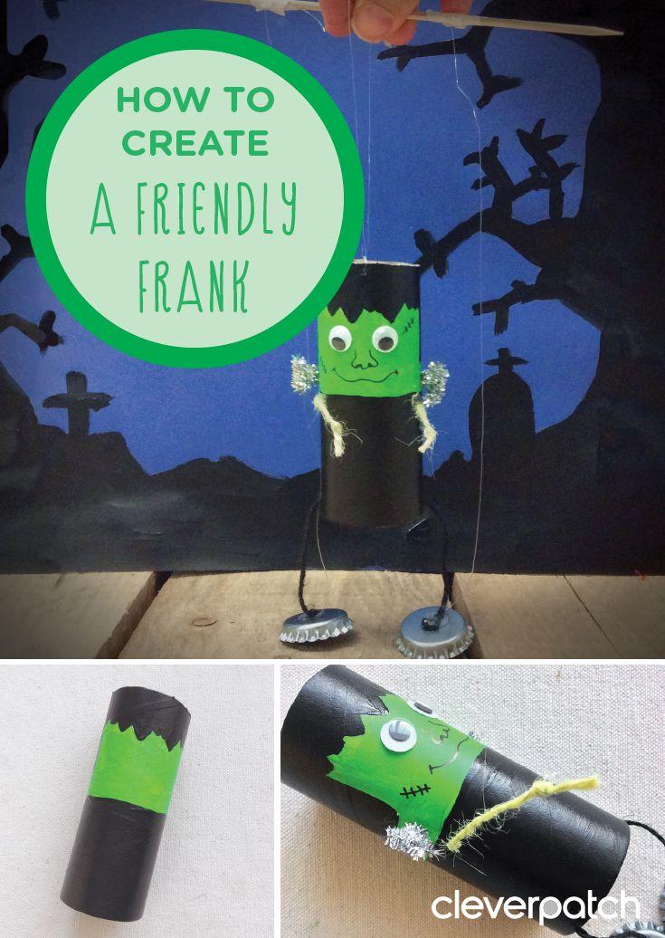 Pin by Pinning Teacher on Halloween Arts  Crafts Pinterest Puppet - halloween arts and crafts decorations