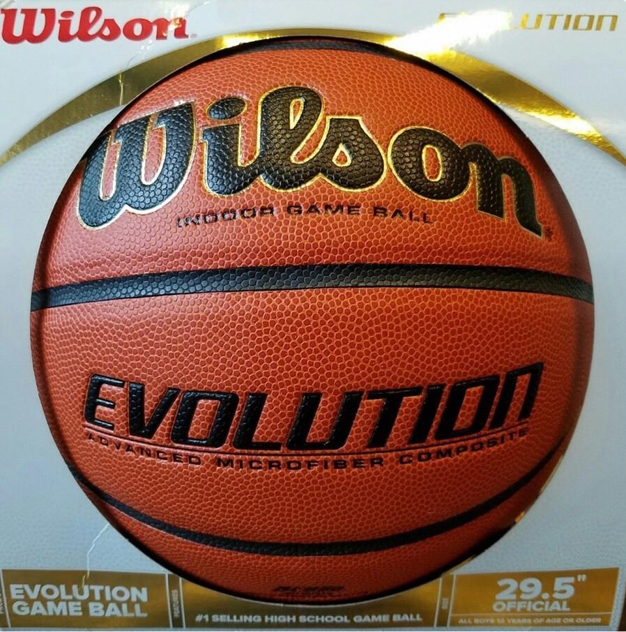 Wilson Evolution Indoor Game Basketball Official 29 5 New Free Shipping Basketball High School Games Basketball Quotes Inspirational