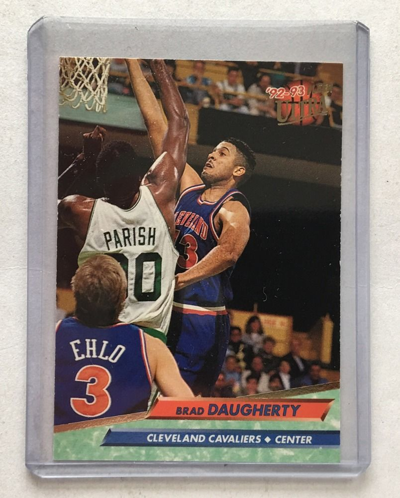 Brad daugherty 92 93 fleer ultra cleveland cavaliers nba card 35