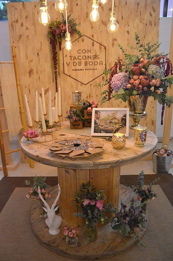segunda edición wedding show | con tacones y de boda | centros de