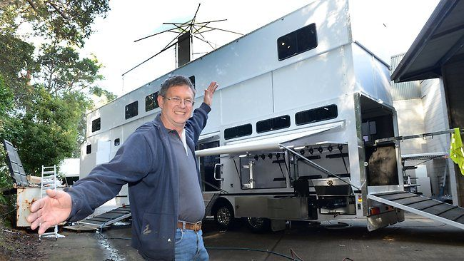 Image result for Rivenlee 2 story horse trailers