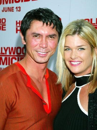 Foto på Lou Diamond Phillips & hans Dotter Isabella Patricia Phillips