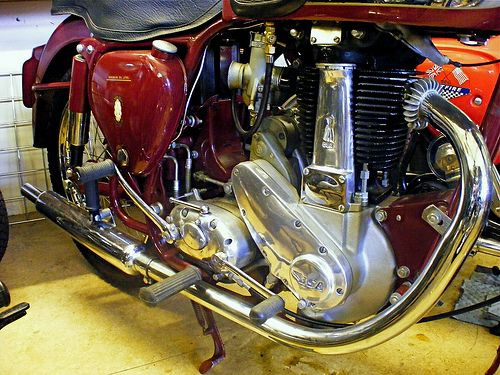 Bsa B33 Classic Bikes Motorcycle Cafe Racer