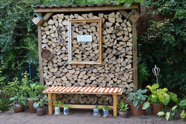 Auf Dem Holzweg Oder Die Zwangsweise Wandlung Des Weissen Beetes Allegrias Landhaus Larmschutz Garten Garten Pflanzen Garten