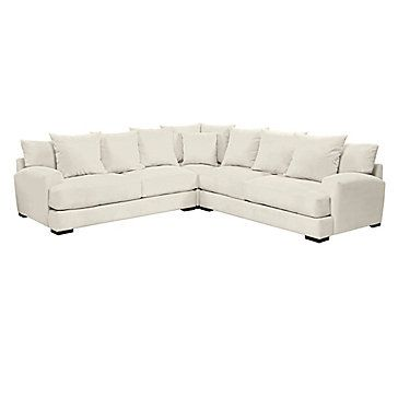 Stella Corner Sectional 3 Pc Sectional Sofa Corner Sectional Sectional