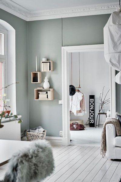 kleur muur woonkamer pinterest interieur slaapkamer en woonkamer behang