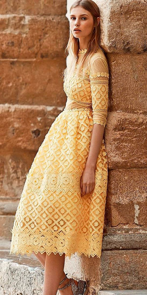 a2a335c2896 27 Wedding Guest Dresses For Every Seasons   Style