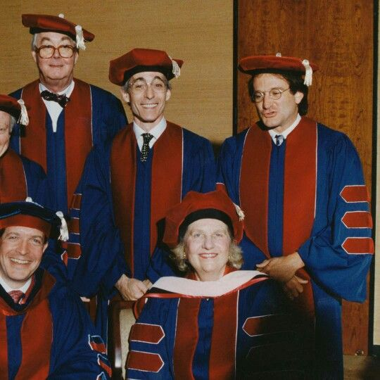 The Day He Received Juilliard Honorary Degree Robin Williams Robin Oh Captain My Captain