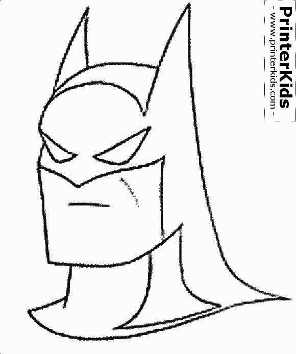 The Batman Head Mask Batman Coloring Page Preview Batman Coloring Pages Batman Pictures Coloring Pages