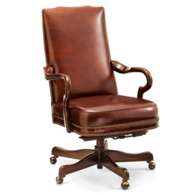 Easton Executive Leather Office Chair Traditional