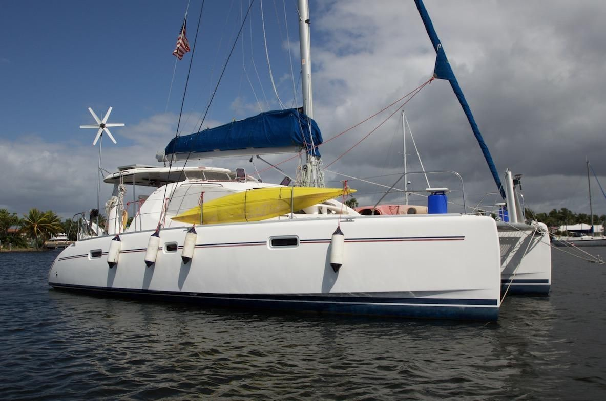 2008 Leopard 40 Sail boat for sale, located in Florida