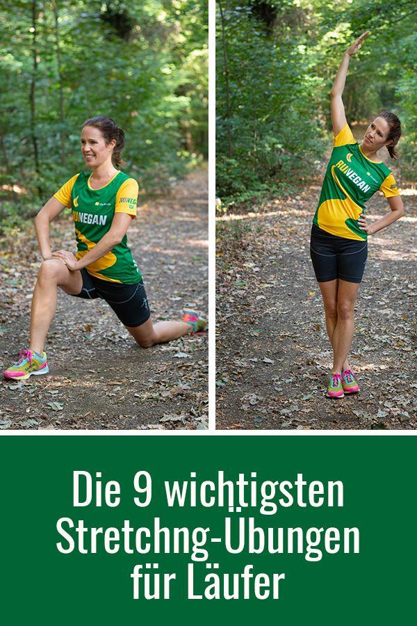 Die 9 wichtigsten Stretching-Übungen für Läufer #balletfitness