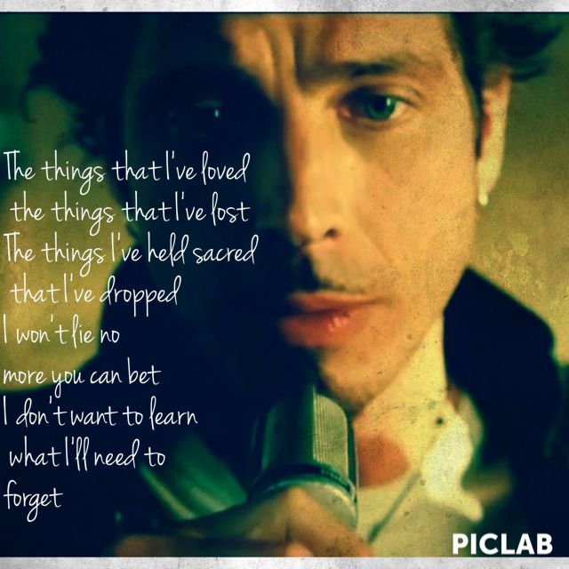 Doesn T Remind Me By Audioslave Chris Cornell Is Pretty Dreamy