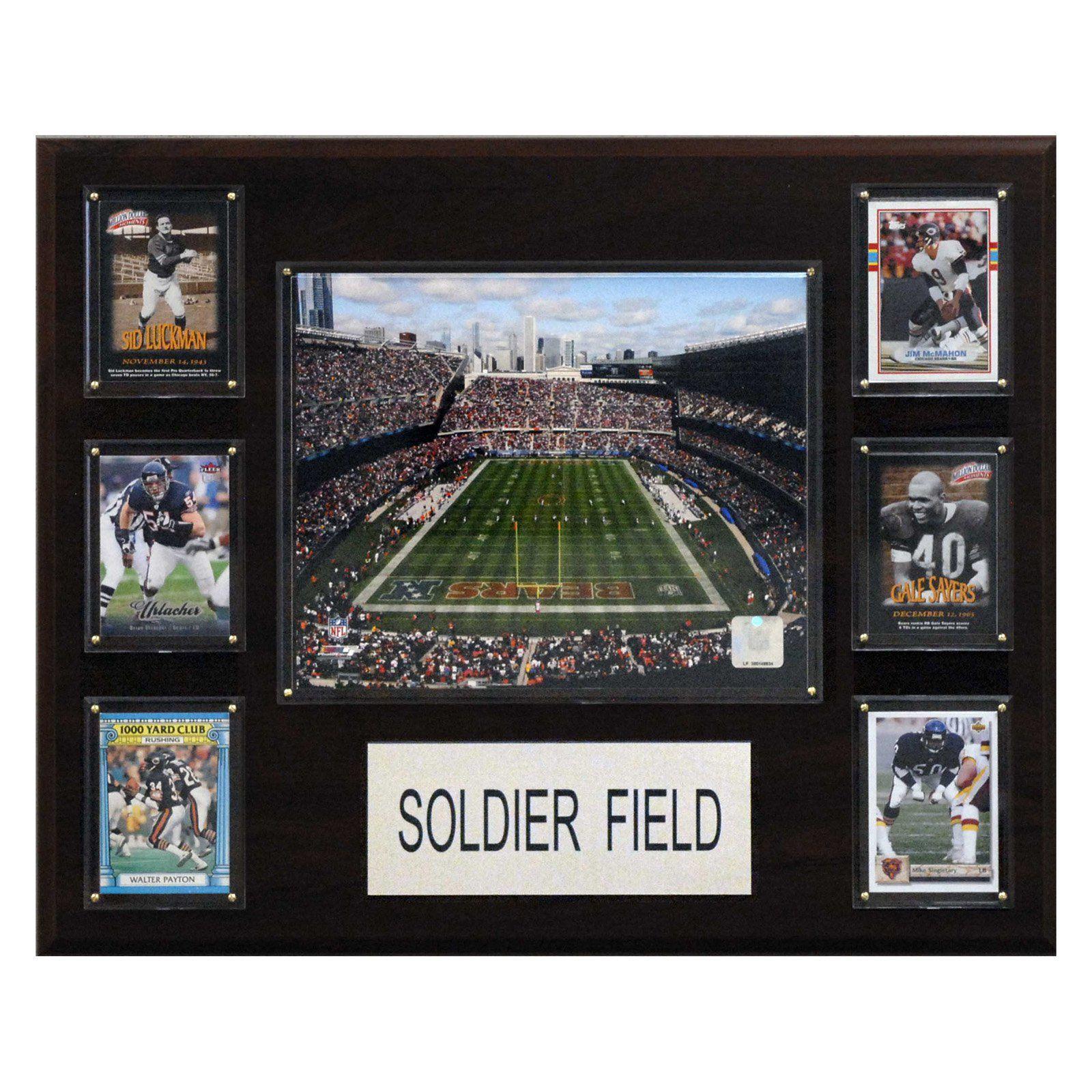 NFL Soldier Field Stadium Plaque