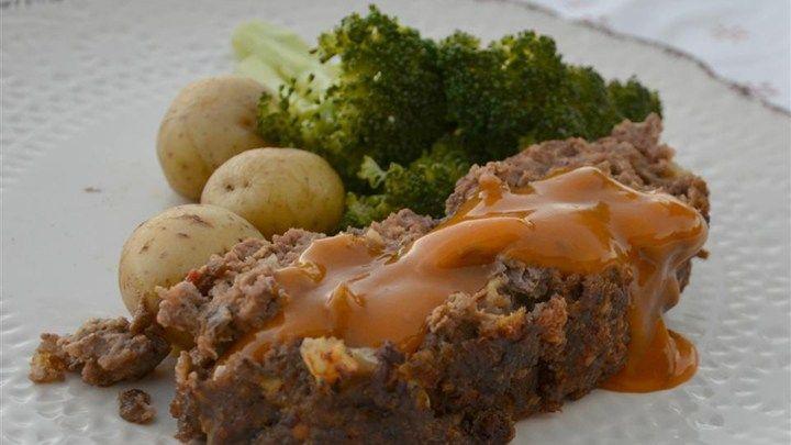 Mom S Best Ever Meatloaf Recipe Golden Mushroom Soup Recipes Best Meatloaf