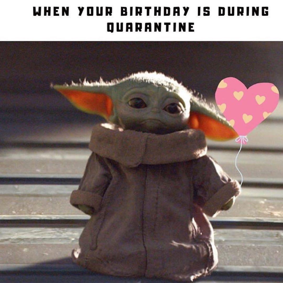 2 066 Likes 43 Comments Baby Yoda Babyyoda Official On Instagram Yoda Babyyoda B Yoda Funny Yoda Meme Yoda Happy Birthday